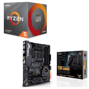 [パーツセット]AMD Ryzen 5 3600X BOX + ASUS TUF GAMING X5...