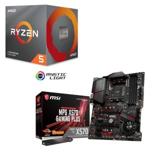 [パーツセット]AMD Ryzen 5 3600X BOX + MSI MPG X570 GAMIN...