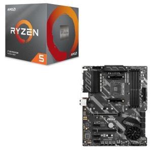 [パーツセット]AMD Ryzen 5 3600X BOX + MSI X570-A PRO セット