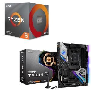 [パーツセット]AMD Ryzen 5 3600X BOX + ASRock X570 Taichi...