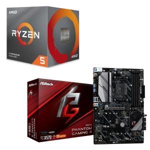 [パーツセット]AMD Ryzen 5 3600X BOX + ASRock X570 Phanto...