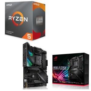 [パーツセット]AMD Ryzen 5 3600 BOX + ASUS ROG STRIX X570...