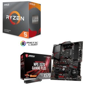 [パーツセット]AMD Ryzen 5 3600 BOX + MSI MPG X570 GAMING...