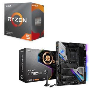 [パーツセット]AMD Ryzen 5 3600 BOX + ASRock X570 Taichi ...