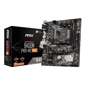 MSI B450M PRO-M2 MAX [MicroATX/AM4/B450] microATX ...