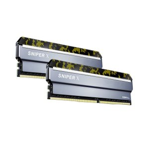 G.SKILL F4-3600C19D-16GSXKB 8GB×2 DDR4-3600 デスクトップ用メモリ Sniper X シリーズ