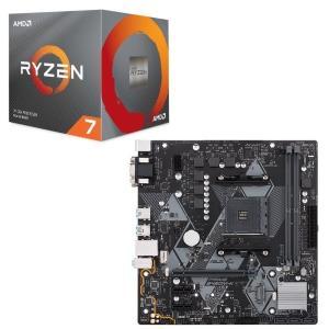 [パーツセット] AMD Ryzen 7 3700X BOX + ASUS PRIME B450M-...