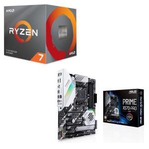 [パーツセット] AMD Ryzen 7 3700X BOX + ASUS PRIME X570-P...