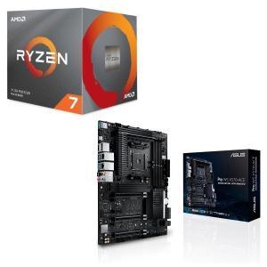 [パーツセット] AMD Ryzen 7 3700X BOX + ASUS Pro WS X570-...