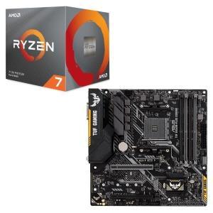 [パーツセット] AMD Ryzen 7 3700X BOX + ASUS TUF B450M-PL...