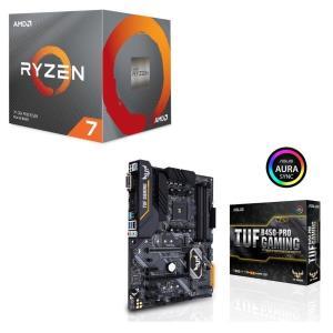 [パーツセット] AMD Ryzen 7 3700X BOX + ASUS TUF B450-PRO...