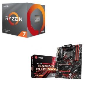 [パーツセット] AMD Ryzen 7 3700X BOX + MSI B450 GAMING P...