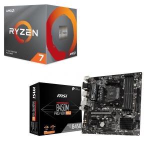 [パーツセット]AMD Ryzen 7 3700X BOX + MSI B450M PRO-VDH ...