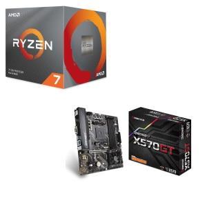 [パーツセット] AMD Ryzen 7 3700X BOX + BIOSTAR X570GT セッ...