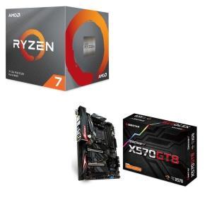 [パーツセット] AMD Ryzen 7 3700X BOX + BIOSTAR X570GT8 セ...