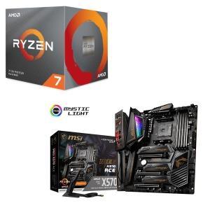 [パーツセット] AMD Ryzen 7 3700X BOX + MSI MEG X570 ACE ...