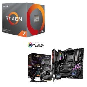 [パーツセット] AMD Ryzen 7 3700X BOX + MSI MEG X570 GODL...