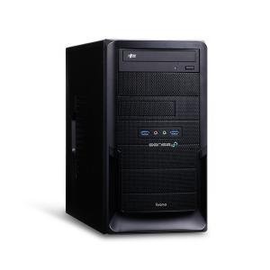 iiyama デスクPC SENSE-M0B4-R53G-VHS-M [Ryzen 5 3400G/...