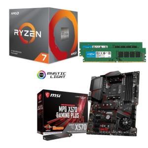 [パーツセット] AMD Ryzen 7 3700X + MSI MPG X570 GAMING P...