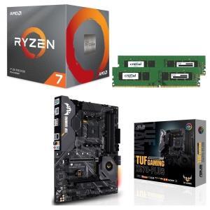[パーツセット] AMD Ryzen 7 3700X + ASUS TUF GAMING X570-...