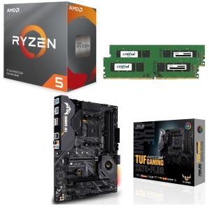 [パーツセット] AMD Ryzen 5 3600 + ASUS TUF GAMING X570-P...