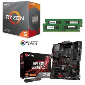 [パーツセット] AMD Ryzen 5 3600 + MSI MPG X570 GAMING PL...