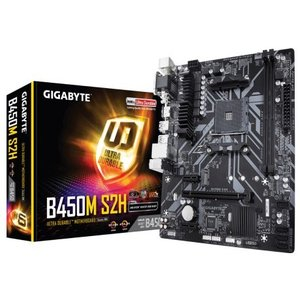 GIGABYTE B450M S2H AMD B450チップセット搭載 基本機能充実、コストパフォーマンスに優れた MicroATX マザーボード