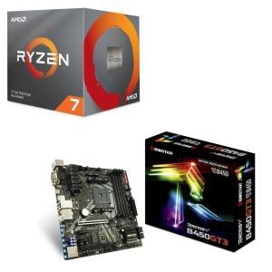 [パーツセット] AMD Ryzen 7 3700X BOX + BIOSTAR MicroATXマ...