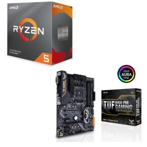 [パーツセット] AMD Ryzen 5 3600 BOX + ASUS TUF B450-PRO ...