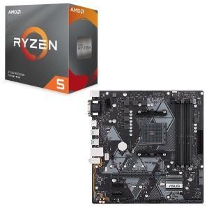 [パーツセット] AMD Ryzen 5 3600 BOX + ASUS PRIME B450M-A...
