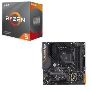 [パーツセット] AMD Ryzen 5 3500 BOX + ASUS TUF B450M-PRO...