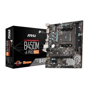 新製品 MSI B450M-A PRO MAX  AMD B450チップセット搭載 MicroATX...