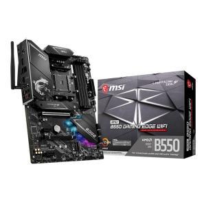 6/20発売 新製品 MSI MPG B550 GAMING EDGE WIFI AMD B550チップセット搭載 ATXマザーボード