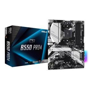 6/20発売 新製品 ASRock B550 Pro4 AMD B550チップセット搭載 ATXマザーボード