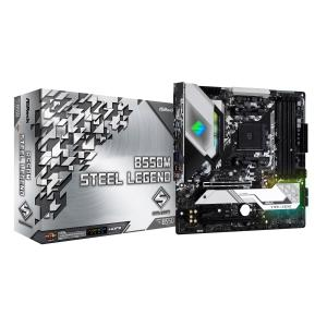 6/20発売 新製品 ASRock B550M Steel Legend AMD B550チップセット搭載 MicroATXマザーボード