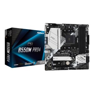6/20発売 新製品 ASRock B550M Pro4 AMD B550チップセット搭載 MicroATXマザーボード