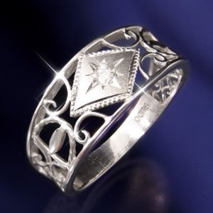 アンティークダイヤリング 指輪 23号