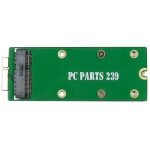 mSATA SSD 27/50mm to 2012 Macbook Pro Retina 26pin SSD 変換アダプタ|pc-parts-239