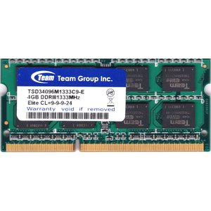 Team Group Inc.  PC3-10600S (DDR3-1333) 4GB SO-DIMM 204pin ノートパソコン用メモリ 型番:TSD34096M1333C9-E 動作保証品 pc-parts-firm