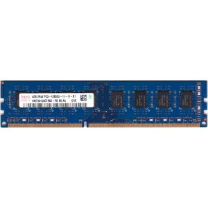 hynix PC3-12800U (DDR3-1600) 4GB 240ピン DIMM デスクトップパソコン用メモリ 型番:HMT351U6CFR8C-PB 動作保証品 pc-parts-firm