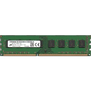 Micron 低電圧メモリ (1.35V) PC3L-12800U (DDR3L-1600) 8GB 240ピン DIMM デスクトップ用 両面実装 (2Rx8) 型番:MT16KTF1G64AZ-1G6E1 動作確認済品【中古】 pc-parts-firm