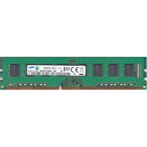 SAMSUNG サムスン PC3-12800U (DDR3-1600) 8GB 240ピン DIMM デスクトップパソコン用メモリ 型番:M378B1G73DB0-CK0 両面実装 (2Rx8) 動作確認済品【中古】 pc-parts-firm