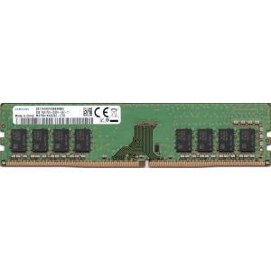 SAMSUNG サムスンの 8GB 1Rx8 PC4-2666V-UA2-11 DIMM 288pin デスクトップパソコン用メモリ 型番:M378A1K43CB2-CTD 片面実装 (1Rx8) 動作確認済品【中古】の画像