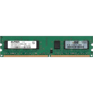 ELPIDA エルピーダメモリ PC2-6400U (DDR2-800) 2GB 240pin DIMM デスクトップパソコン用メモリ 型番:EBE21UE8AEFA-8G-E 両面実装 (2Rx8) 動作保証品【中古】 pc-parts-firm