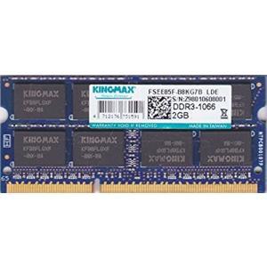 KINGMAX PC3-8500S (DDR3-1066) 2GB SO-DIMM 204pin ノートパソコン用メモリ pc-parts-firm