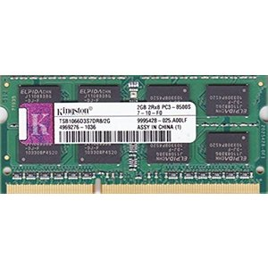 Kingston PC3-8500S (DDR3-1066) 2GB SO-DIMM 204pin ノートパソコン用メモリ pc-parts-firm