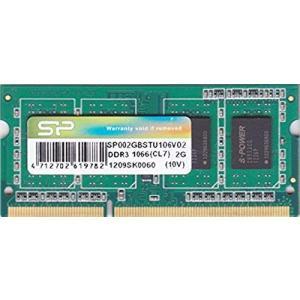 シリコンパワー PC3-8500S (DDR3-1066) 2GB SO-DIMM 204pin ノートパソコン用メモリ 動作保証品 pc-parts-firm