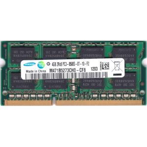 SAMSUNG PC3-8500S (DDR3-1066) 4GB SO-DIMM 204pin ノートパソコン用メモリ 型番:M471B5273CH0-CF8