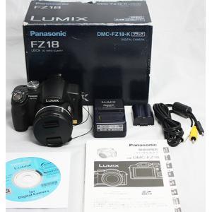 Panasonic デジタルカメラ LUMIX (ルミックス) ブラック DMC-FZ18-K 動作保証品|pc-parts-firm
