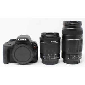 Canon デジタル一眼レフカメラ EOS Kiss X7 ダブルズームキット EF-S18-55mm/EF-S55-250mm付属 KISSX7-WKIT 動作保証品|pc-parts-firm